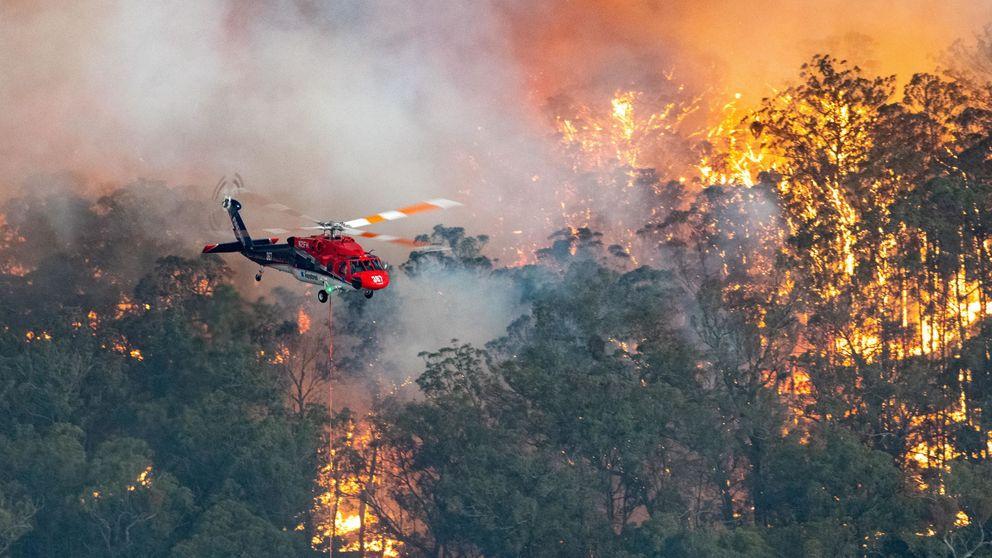 Escenas posapocalípticas en Australia, 2 muertos y 4.000 evacuados por incendios