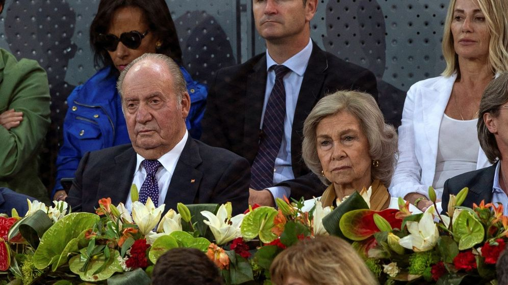 Foto: Los Reyes eméritos en el tenis. (EFE)