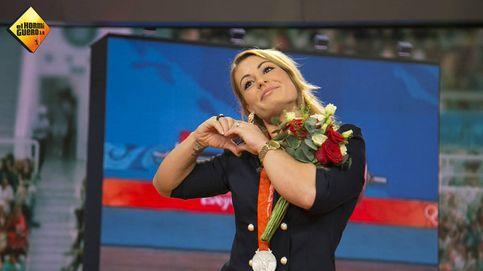 'El hormiguero' sorprende a Lydia Valentín entregándole su medalla de Pekín 2008