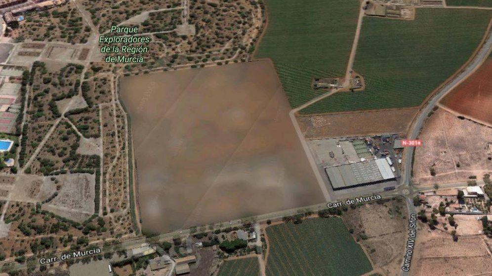 Foto: El gran misterio que esconde la Región de Murcia. (Google Maps)