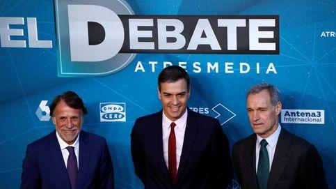 Debate electoral, en directo | Todo preparado para el debate en Atresmedia