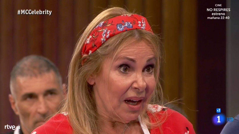 Ana Obregón, en 'Masterchef Celebrity 4'. (TVE)