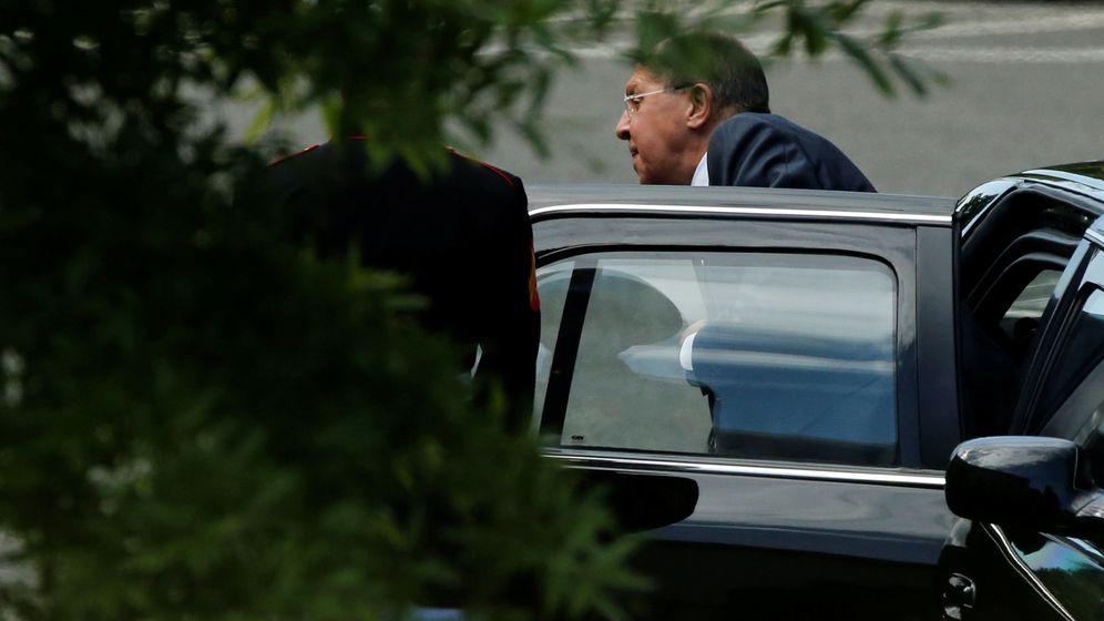 Foto: El ministro de Exteriores ruso, Sergey Lavrov, a su llegada a la Casa Blanca para reunirse con Trump. (Reuters)