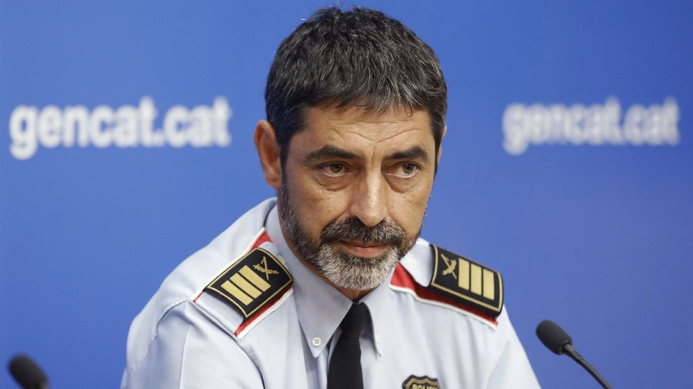 Foto: Trapero, en su etapa como jefe de los Mossos. (EFE)