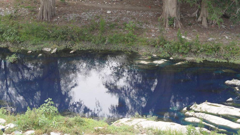 Una empresa española evita que se tiñan de azul pitufo los ríos de China