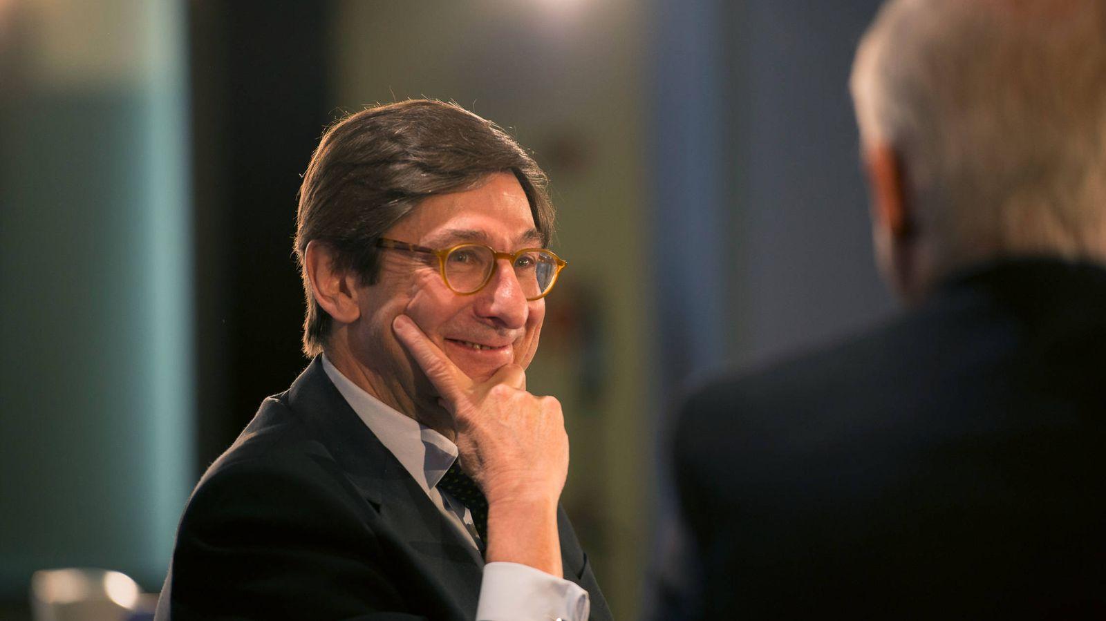 Foto: El presidente de Bankia, José Ignacio Goirigolzarri en el evento de Pimco y El Confidencial