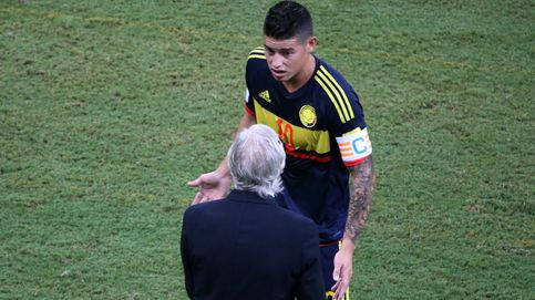Colombia vacila al Madrid con James, que viajó lesionado, pero podría jugar