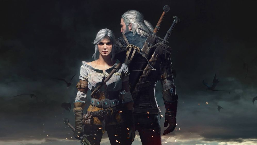 Foto: Ciri y Geralt en 'The witcher 3'. (CD Projekt RED)