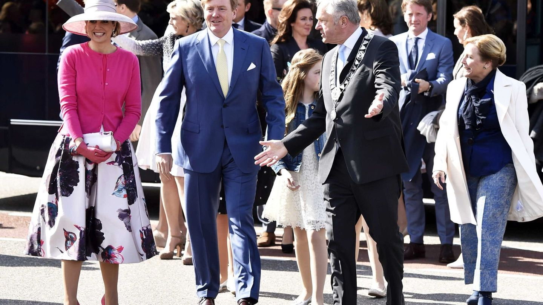 Guillermo y Máxima en el Día del Rey de 2016. (EFE)