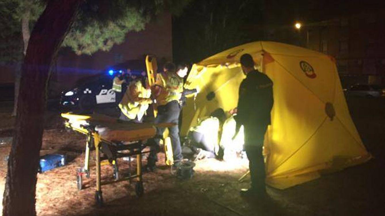 Doble apuñalamiento en Madrid (Moratalaz): dos heridos graves y uno leve