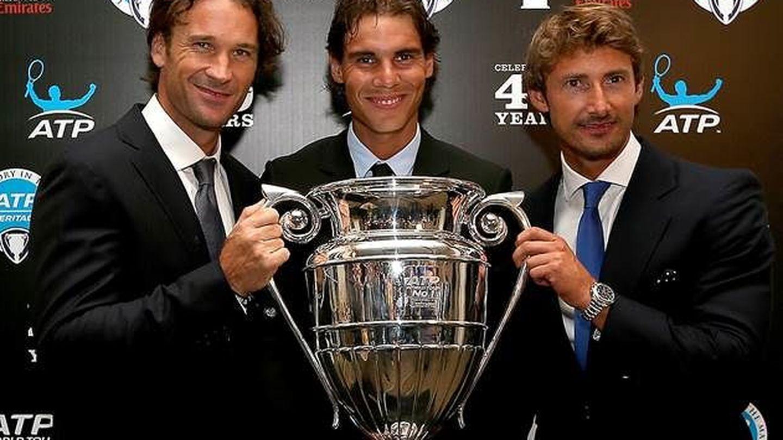 Los número 1 españoles, en una imagen de archivo. (ATP)