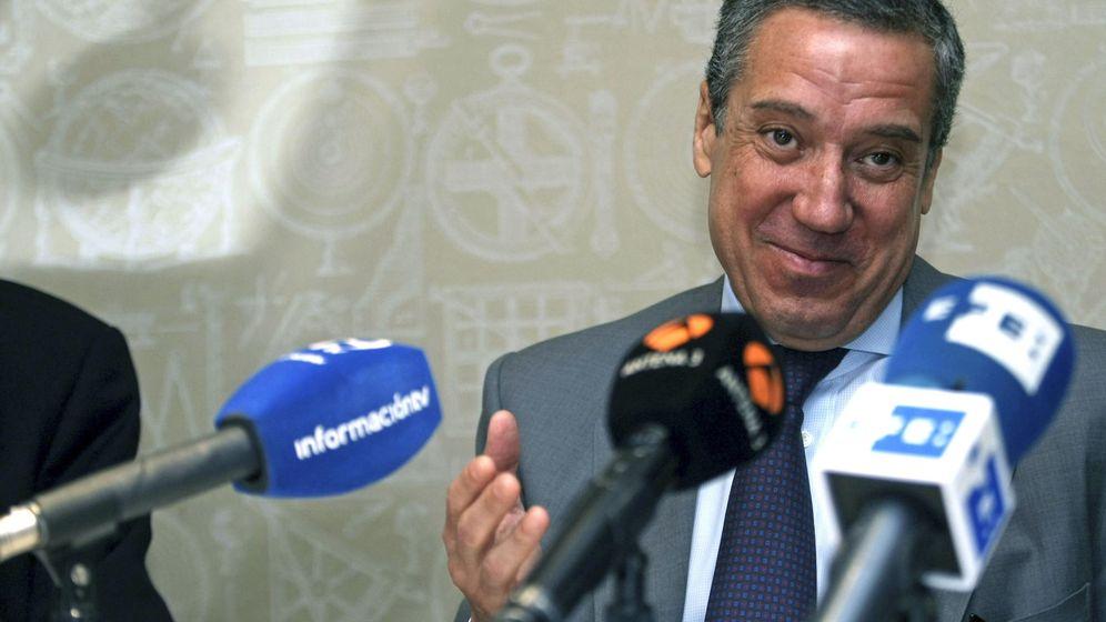 Foto: El exministro y expresidente de la Generalitat valenciana, Eduardo Zaplana. (EFE)