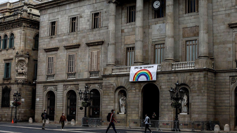 El Ayuntamiento de Barcelona. (EFE)
