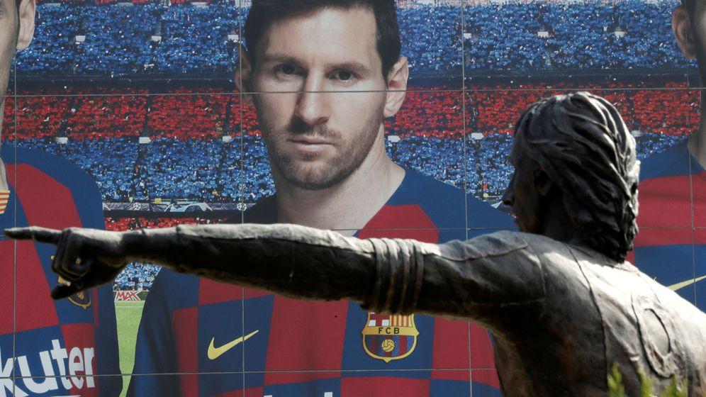 Foto: Fotografía en el Camp Nou de Leo Messi. (Reuters)