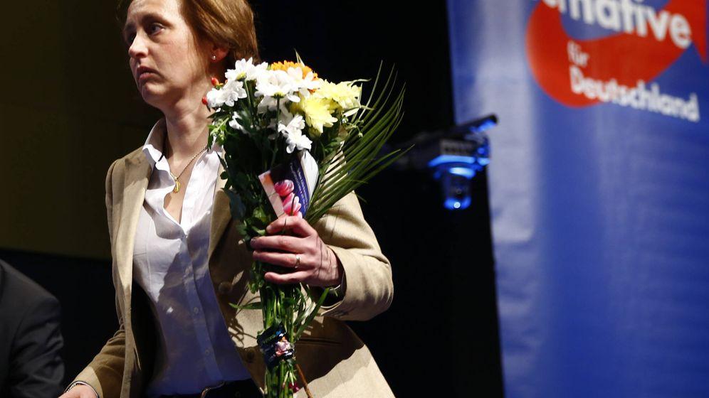 Foto: Beatrix von Storch, de Alternativa para Alemania, durante el congreso del partido en Stuttgart, Alemania. (Reuters)