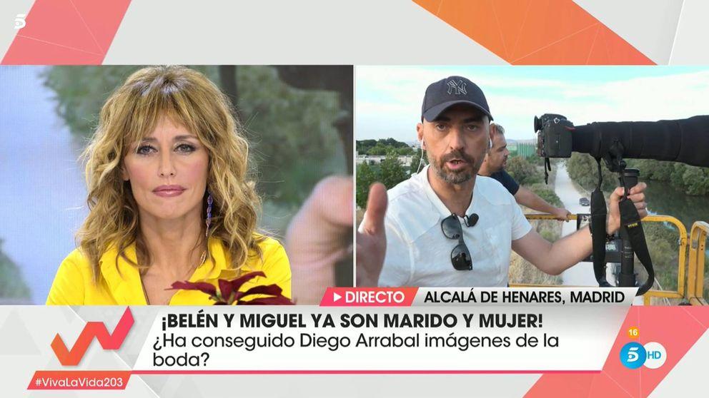 La policía detiene a dos fotógrafos de Diego Arrabal en la boda de Belén