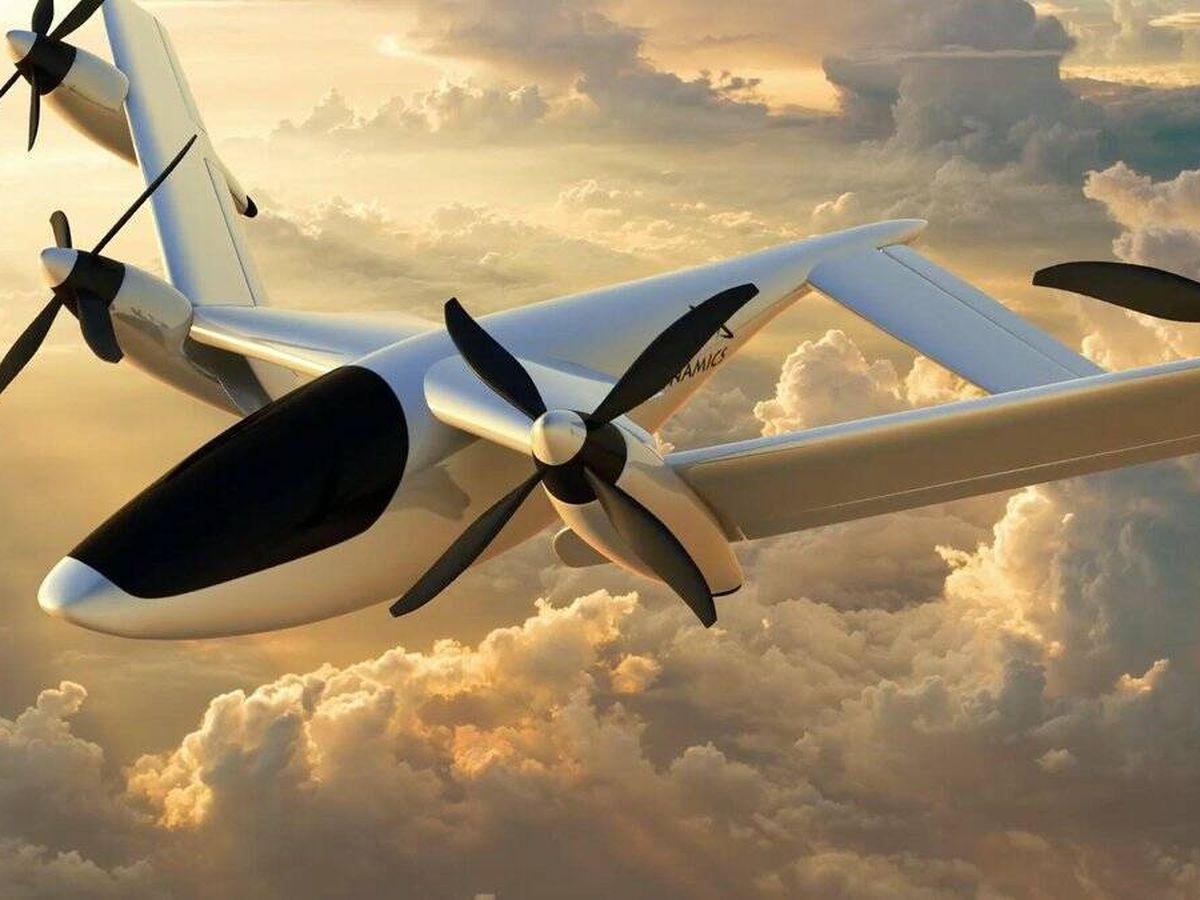 Foto: El avión de Pterodynamics en plena transformación. (Pterodynamics)
