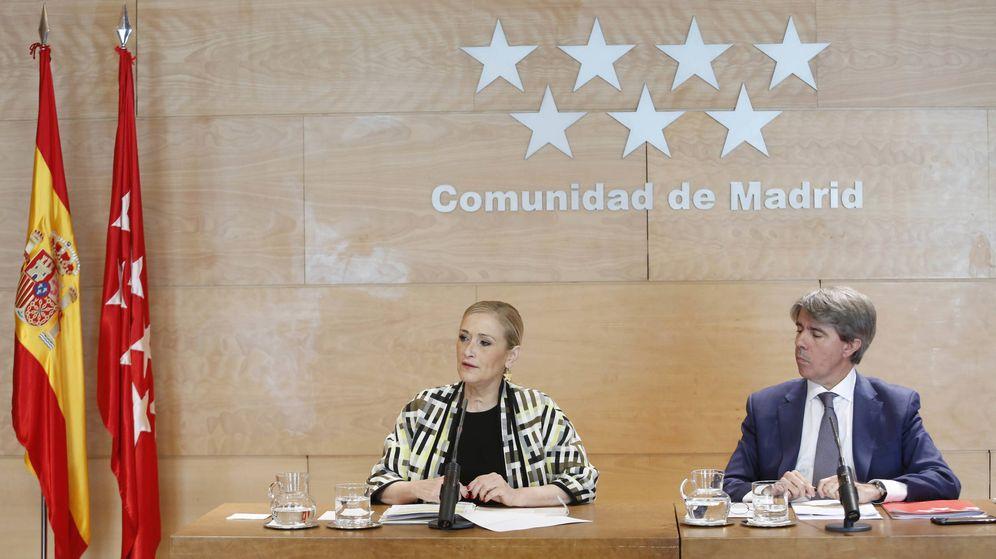 Foto: Cristina Cifuentes y Ángel Garrido. (EFE)