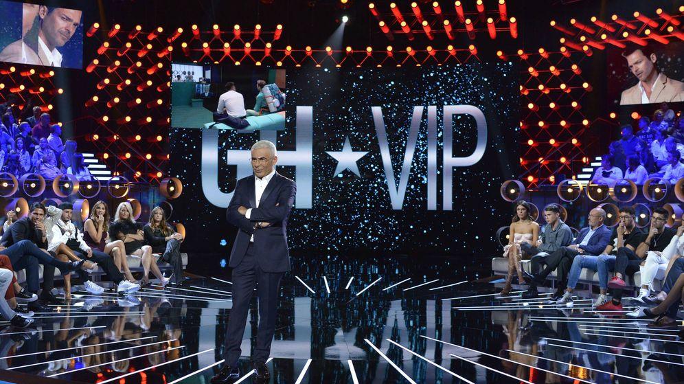 Foto: Plató de 'GH VIP 7'. (Mediaset España)