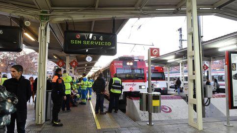 Caos en el Cercanías de Madrid por la rotura de una tubería en hora punta
