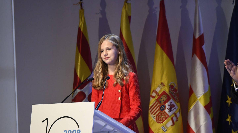 Leonor, durante un discurso. (Limited Pictures)