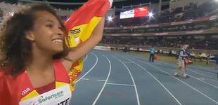 Post de María Vicente, campeona del mundo juvenil de heptatlón