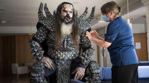 Mr. Lordi se inmuniza frente al covid