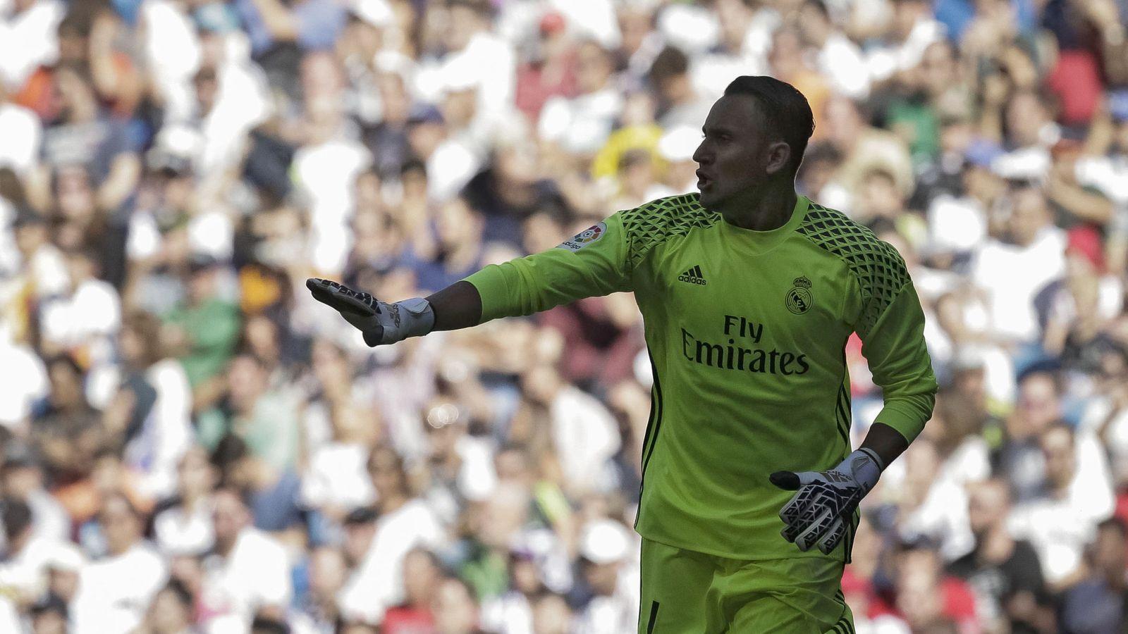Foto: Keylor Navas, durante un partido con el Real Madrid (EFE)