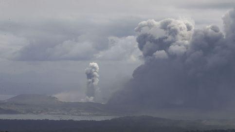 La erupción del volcán Taal en Filipinas obliga a evacuar a casi 25.000 personas