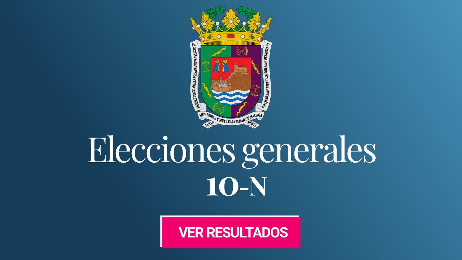 Foto: Elecciones generales 2019 en Málaga. (C.C./EC)