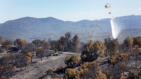 Los bomberos dan por estabilizado el incendio de Castellví de Rosanes (Barcelona)
