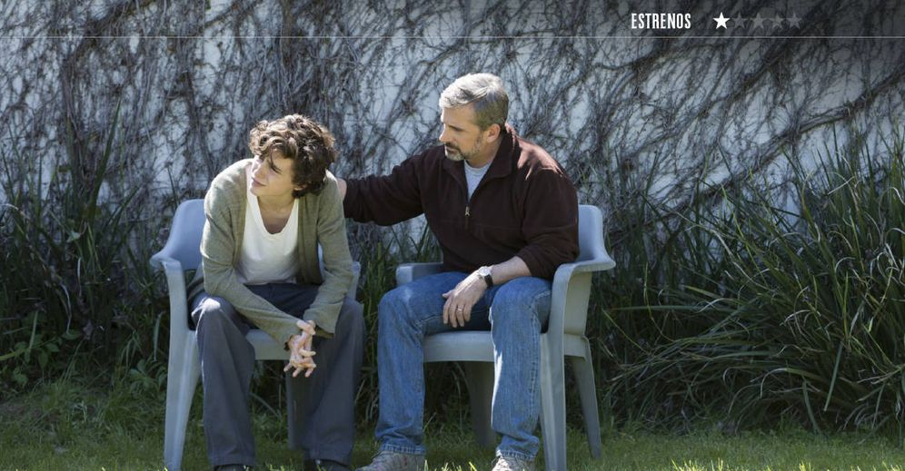 Foto: Thimothée Chalamet y Steve Carell, en 'Beautiful Boy'. (Diamond)