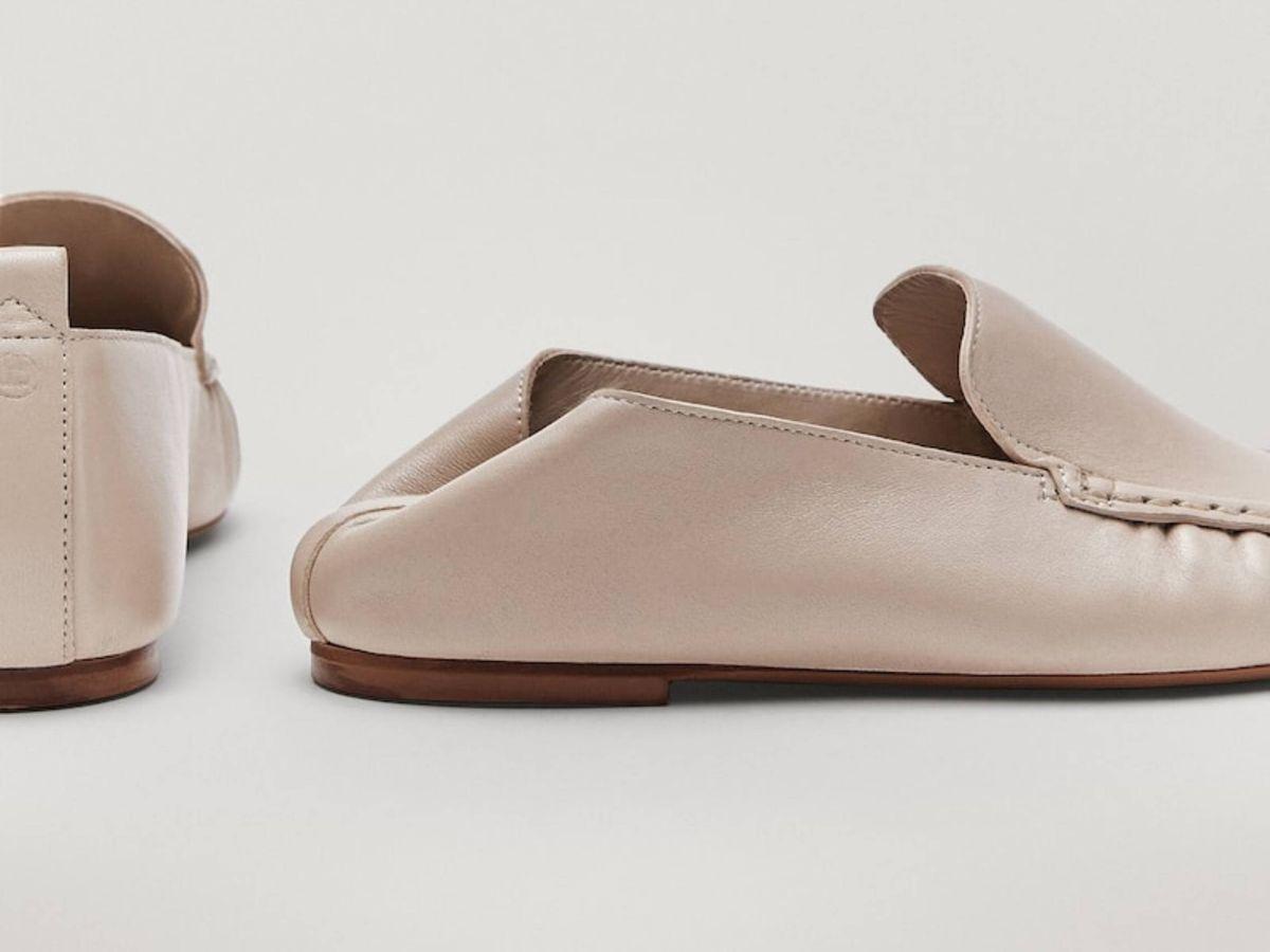 Foto: Los mocasines de piel de Massimo Dutti. (Cortesía)