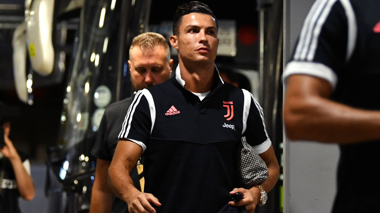 Cristiano, en un partido de esta semana con la Juventus. (Getty)