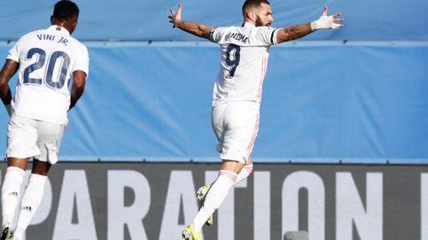 Un golazo de Benzema y la lesión de Carvajal: la cara y la cruz del Real Madrid (2-0)