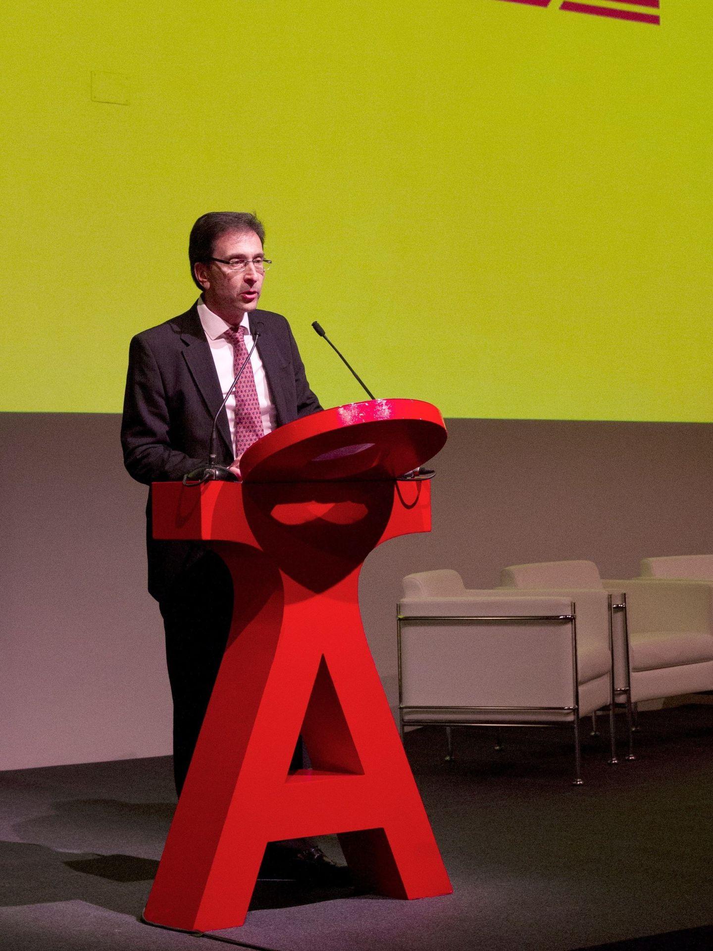 El director general de DHL Express Iberia, Miguel Borrás. (EFE)