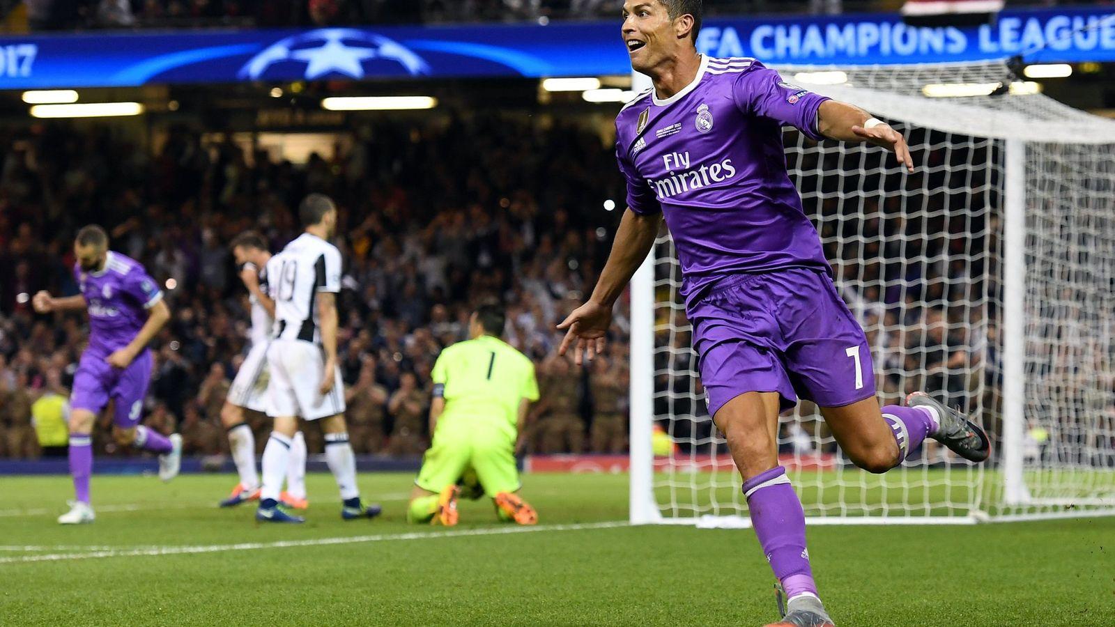 Foto: Cristiano Ronaldo, celebrando el 1-3 durante la pasada final de Champions. (Reuters)