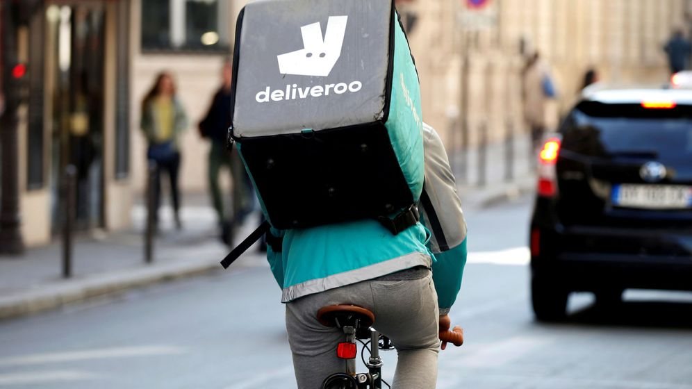Foto: Logo de Deliveroo. (Reuters)