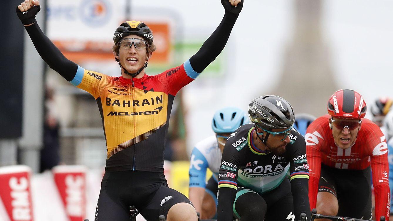 La mejor victoria de Iván García Cortina: ante Sagan y con felicitación de Luis Enrique