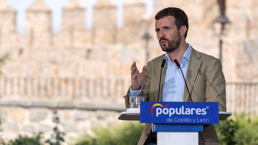 Foto: Casado comienza el curso político con un acto en Ávila. (EFE)