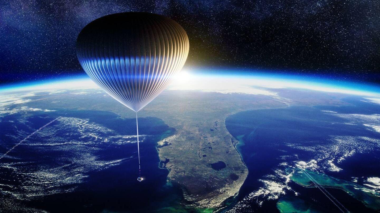 El globo es tan grande como un estadio de fútbol. (Space Perspective)