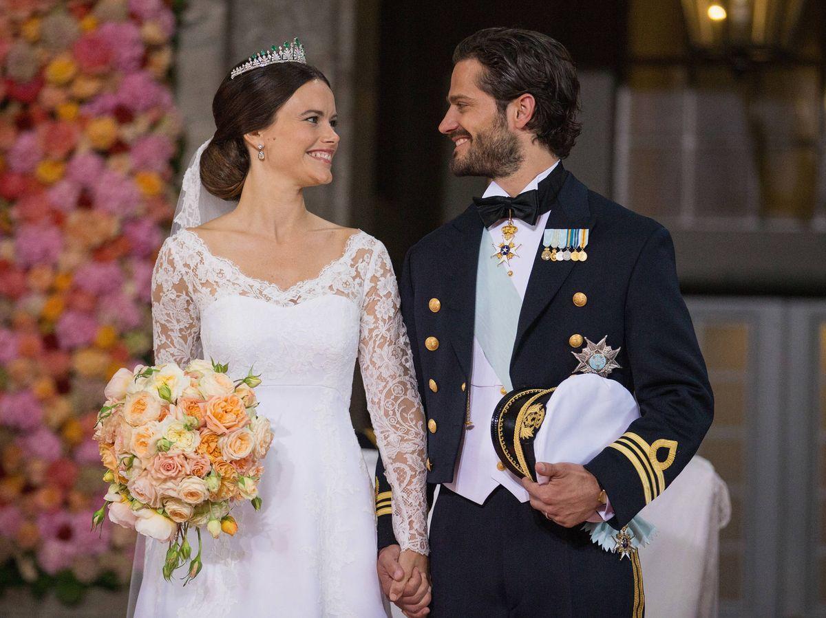 Foto: La boda de Sofía Hellqvist y Carlos Felipe. (Getty)