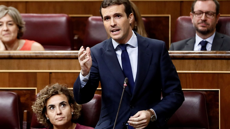 Casado afea a Sánchez el atajo de los PGE y le pide elecciones: Libere al país de su lastre