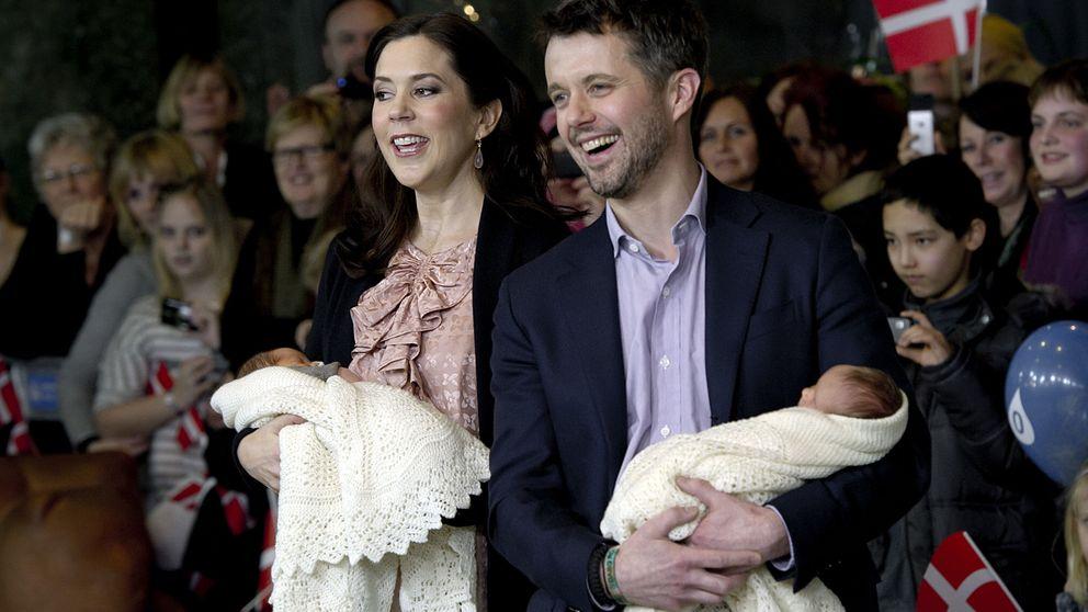 Los mellizos de Federico y Mary de Dinamarca cumplen 5 años