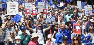 Post de Miles de personas exigen en Londres votar sobre los términos del Brexit