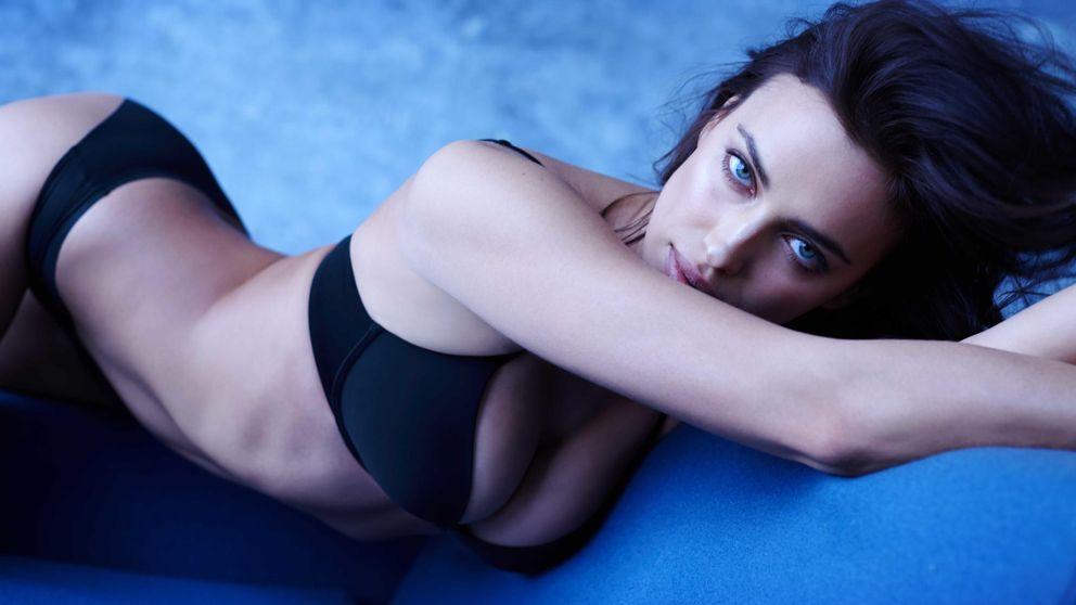 Irina Shayk posa de nuevo para Intimissimi, la marca que la descubrió