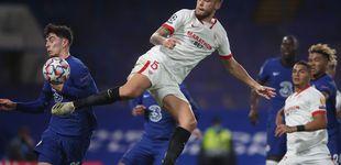 Post de El Sevilla presenta sus credenciales para la Champions en Stamford Bridge (0-0)