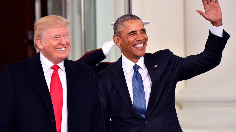Trump y Obama. (Getty)