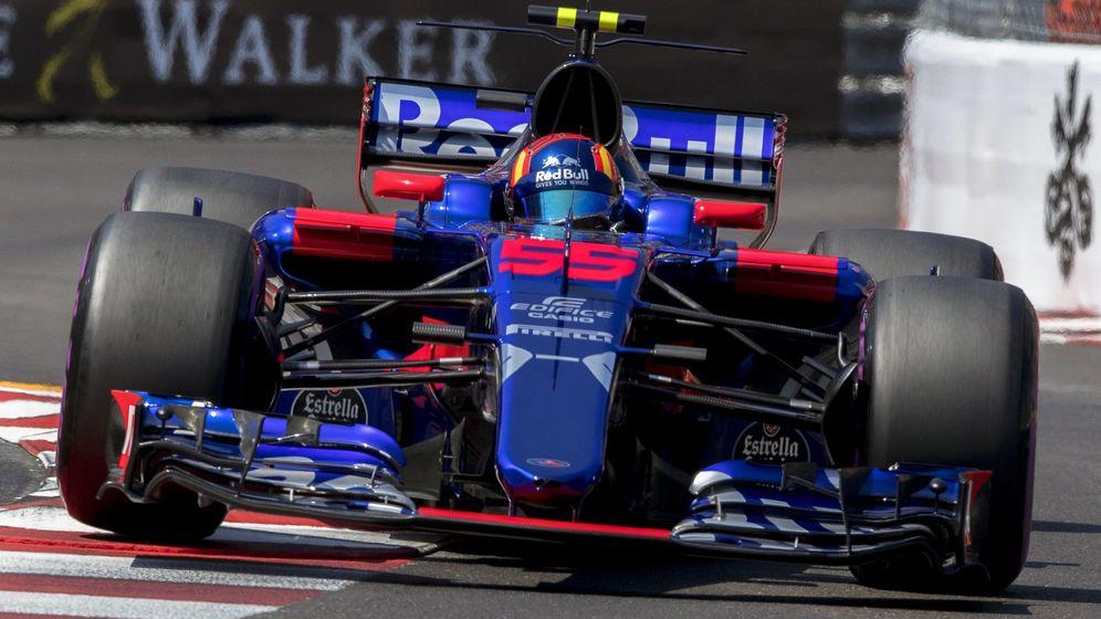 Foto: Carlos Sainz, durante el Gran Premio de Mónaco. (EFE)