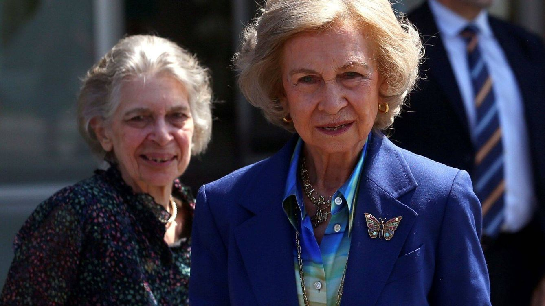 La reina Sofía viaja a Grecia para celebrar el 81 cumpleaños de su hermano Constantino
